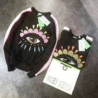 KENZO Fashion Casual Long Sleeve Pullover Tops Sweater Sweatshirts G-A-HRWM