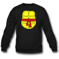 TMNT's front Shell SWEATSHIRT CREWNECKS