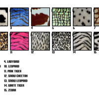 Seatbelt pads 1 pair of furry faux fur fluffy fuzzy print car seat belt covers choice of animal print leopard zebra tiger cheetah cow bee