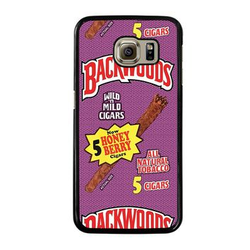 ONLY BACKWOODS CIGARS Samsung Galaxy S6 Case