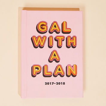 Gal With A Plan 2017-2018 Planner