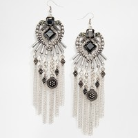 River Island Statement Earrings with Tassles