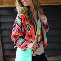 Cover Me In Aztec Cover Up: Multi | Hope's