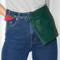 & Other Stories | Leather Bag | Green