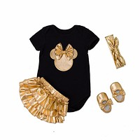 Baby Gold Minnie Mouse TuTu