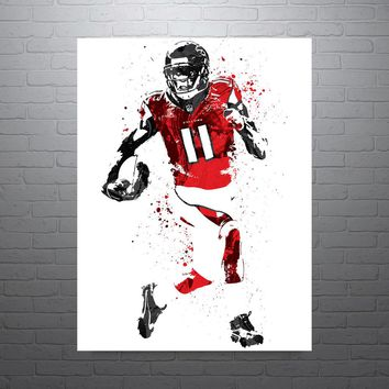 Julio Jones Atlanta Falcons Football Poster