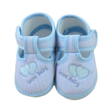 CREYM83 Baby shoes girls Newborn Girl Boy Soft Sole Crib Toddler Shoes Canvas Sneaker girls shoes casual first walker