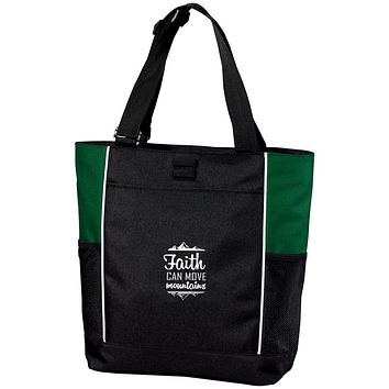 "Christian Gifts - ""Faith Can Move Mountains"" Bags"