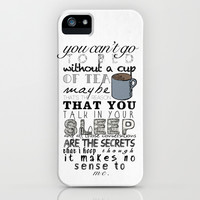 One Direction: Little Things iPhone & iPod Case by MaFleur