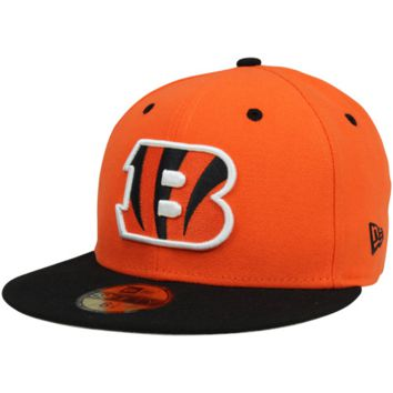 New Era Cincinnati Bengals Two-Tone 59FIFTY Fitted Hat - Orange/Black