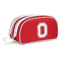 The Ohio State University Double Zip Makeup Bag - PINK - Victoria's Secret