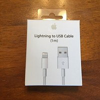 Apple MD818ZM/A Lightning to USB 1m Cable