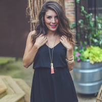 Keepsake Cocktail Dress in Black
