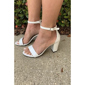 Special Occasion Heel - White