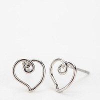 Urban Outfitters - Open Heart Earring