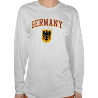 Germany + Crest T-Shirt from Zazzle.com