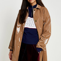 UO Vinyl Trench Coat | Urban Outfitters