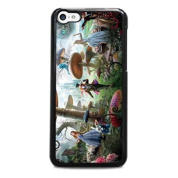 alice in wonderland disney iphone 5c case cover  number 1