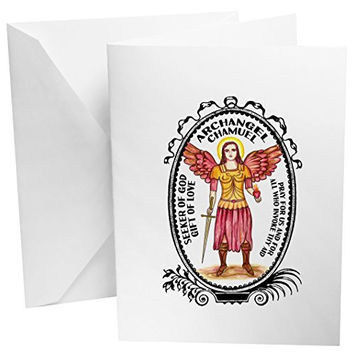 Archangel Chamuel Gift of Love & Relationships Set of 12 Note Cards