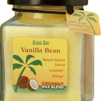 Coconut Cube Jar Candle Vanilla Bean 40 hr burn