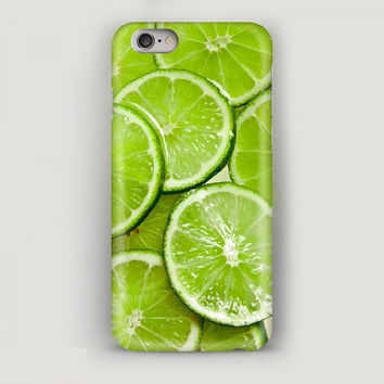 Phone Case Lime, Mobile Phone Case Green, iPhone 6 Plus Case, Case for iPhone, iPhone 5s Case, iPhone 5c Case – Food Print, iPhone 4 Case