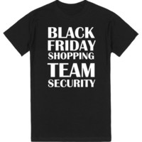 Black Friday Shopping Team Security