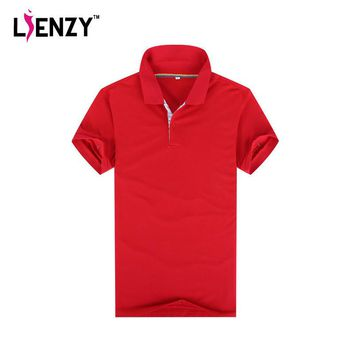 LIENZY Casual Women Brand Classic Polo Shirt Collar Cotton Shirts Sports Golf Tennis J