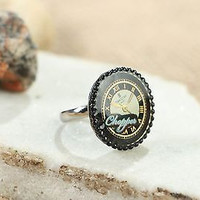 Ring handmade steampunk unusual present idea accessories jewelry bijouterie gift