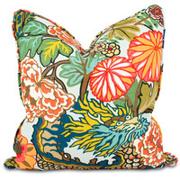 Chiang Mai Dragon Throw Pillow