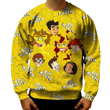 Big Mouth Collage Sweatshirt
