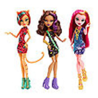 Monster High Freaky Field Trip Doll Case