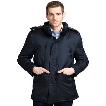 SCOTCH CCWZ Brand Winter Jacket Men Parkas 2017 Keep Warm Thick Business Jackets And Coats For Men Clothing Overcoat Padded 9925