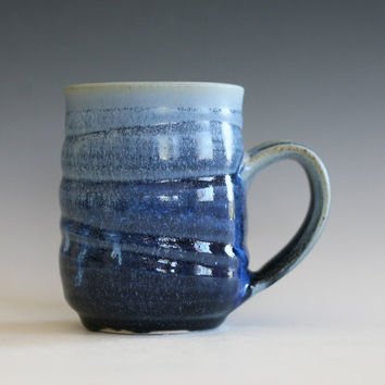 Pottery Mug, ceramic cup, tea mug, coffee cup, wheel thrown pottery mug, stoneware mug, unique coffee mug