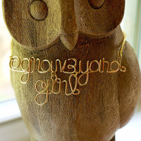 Doublelined user name children's names new by QueenCityConceptions