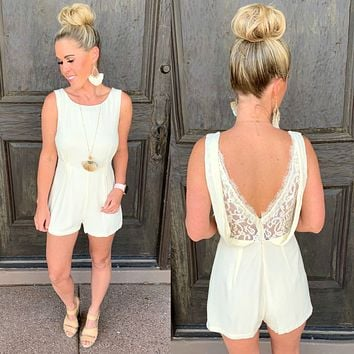 Luscious in Lace Romper