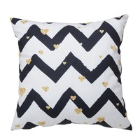 Chevron Pattern Cushion Cover