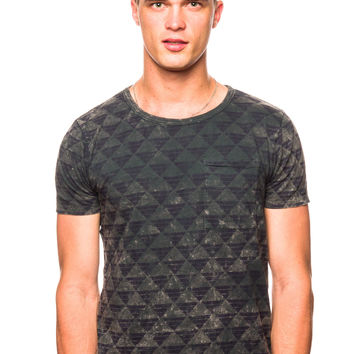 Scotch & Soda 51110 Marble Washed Crew Neck T-shirt