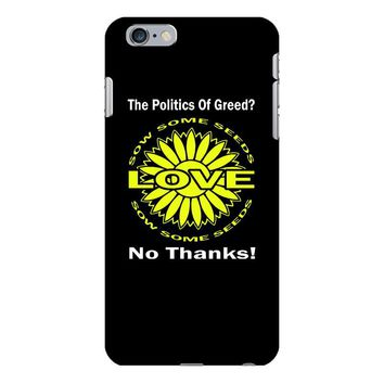 political the 80's 60's hippy anti capitalism iPhone 6/6s Plus Case