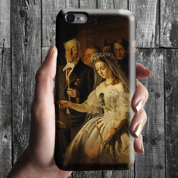The Unequal Marriage - Pukirev iPhone Case 6, 6S, 6 Plus, 4S, 5S Mobile Phone Cell. Art Painting. Gift Idea. Anniversary. Gift for him/her