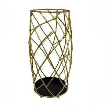 Gold Twig Umbrella Stand
