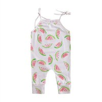 Watermelon Slices Romper