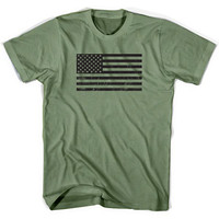 USA American Flag Don't Tread On Me T-shirt