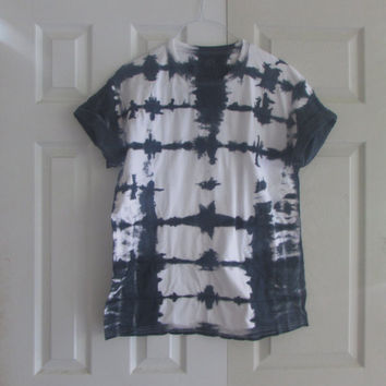 Shibori Inspired Unisex Customizable Tee Shirt