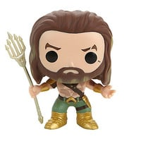 Funko DC Comics Batman V Superman: Dawn Of Justice Pop! Heroes Aquaman Vinyl Figure