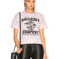 LOCAL AUTHORITY for FWRD Trippin' Pocket Tee in Pink Tie Dye | FWRD