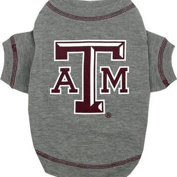 Texas A&M Aggies Pet Shirt SM