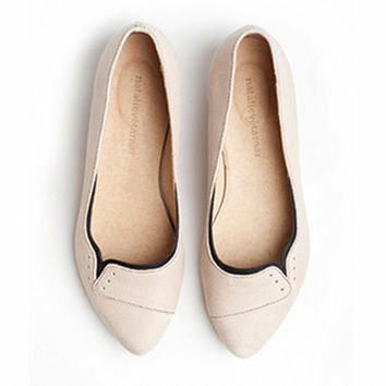 30 OFF Ninna flats in Sand color by TamarShalem on Etsy