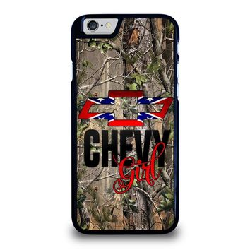 CAMO BROWNING REBEL CHEVY GIRL iPhone 6 / 6S Case Cover