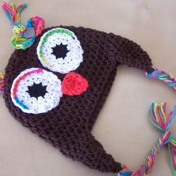 cute baby clothes baby girl owl hat from