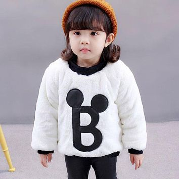 Cotton Fleece Sweater Jacket for Newborns Baby Boy Girl Autumn Warm Coats Outerwear Toddler Clothing Clothes High Quality 0-2T